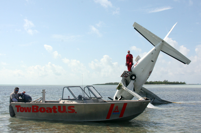 Long Distance Towing >> TowBoatU.S. Fort Lauderdale - Piper Malibu Recovered Near ...