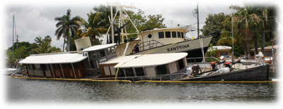 Long Distance Towing >> TowBoatU.S. Fort Lauderdale - Historic 1930 Motor Yacht Sinks In Miami